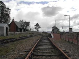 Corrour-Station: Der Zug nach Fort William fährt um 15.37 Uhr – und zwar genau um 15.37 Uhr.