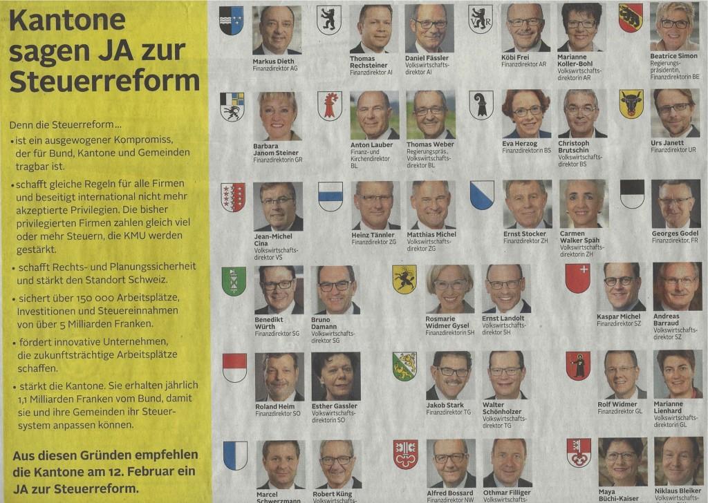 Kantons-Kampagne